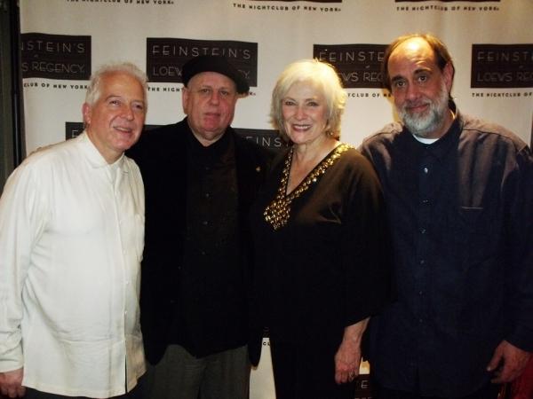 Billy Drewes, Kenny Warner, Betty Buckley and Tony Marino